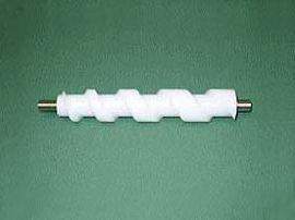 角ビン用右ネジ/UHMW-PE(白色)